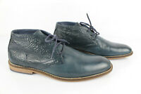 JANOTA Boots à Lacets Cuir Bleu T 41 Très bon état
