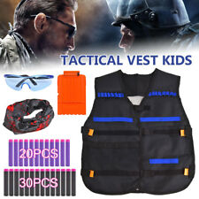 NEW Tactical Vest Suit Jacket Kit For Nerf Guns N-Strike Elite Series Accessory