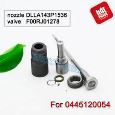 0445120054 Overhaul Kit Nozzle DLLA143P1536 Valve F00RJ01278 for IVECO Injector