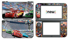 Cars 327 Vinyl Decal Skin Sticker Game for Nintendo New 3DS XL 2015