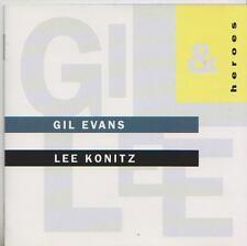 GIL EVANS  LEE KONITZ   CD  HEROES