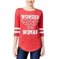 DC Comics Wonder Woman Juniors Womens Raglan Shirt New