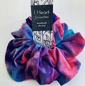 Super Big handmade hair scrunchie 100% Spandex Free Shipping