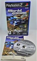 World Racing Video Game for Sony PlayStation 2 PS2 PAL TESTED