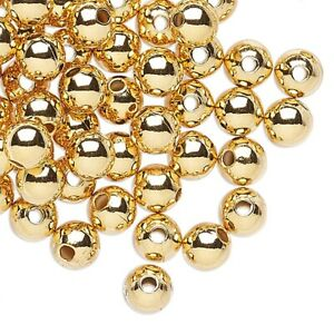 7mm x 3mm 15 pcs Gold Rondelle Spacer Beads, Matte Gold Plated Loose Beads Metal Spacer Beads Jewelry Beading Findings  GPY-033