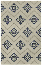 Capel Rugs Flakes Blue Rug 3' x 5'