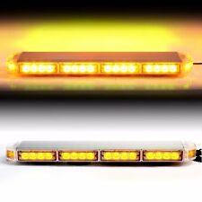 "Amber 22"" LED Emergency Warning Hazard Security Strobe Light Bar Off Road SIG"