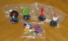 New Trivial Pursuit Pop Culture 2 Tokens Gnome Peace Sign LP Record Disco Boot