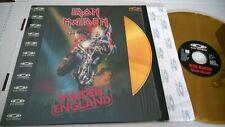 IRON MAIDEN Maiden England Lasedisc EMI –081 978-1, PolyGram Music Video – 081