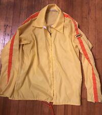 Rare XL Windbreaker Delst Safety Motor Speedway Safety Nascar Indy Racing Jacket