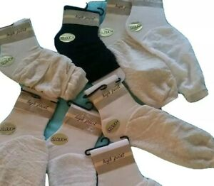 Slouch Socks Women's Scrunch Socks Size 9-11 NWT  Lot of 8 Pairs NOS High Point
