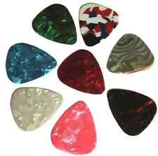 10Pcs Mixed Celluloid Guitar Bass Picks Plectrums Electric Acoustic Thin 0.46mm