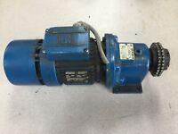 MGM Motor w Rossi Motoriduttori Gear Box Info in picture set