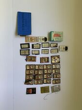 Antique Vintage Sewing Lot, Needles, Threader, Advertising , Match Kits 32 Pc