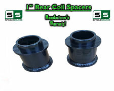 "1"" Rear STEEL Coil Lift Spacer 2000-2020 Chevy GMC SUV 1500 Tahoe Suburban Yukon"