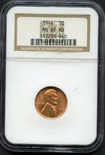 UNITED STATES 1946 LINCOLN CENT GRADED NGC  MS65 RD