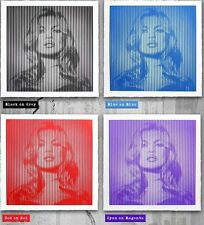 MR BRAINWASH FAME KATE MOSS SCREEN PRINT COMPLETE SET OF 4 LIMITED EDITION #65