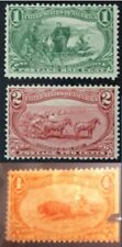 USA,3stamp Omaha 1890- 1-2-4 cents # Mint - (cat value 450£