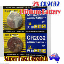 2 x Genuine TIANQIU CR2032 Lithium Battery Brand New 3Volts