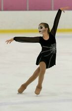 figure skating dramatic showcase dress girls size 10