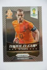 Carte Panini Prizm Coupe du monde 2014 Stars Wesley Sneijder # 22 Pays-Bas