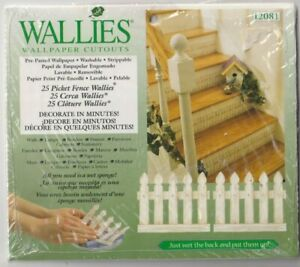 12081 WALLIES - 25 Picket Fences