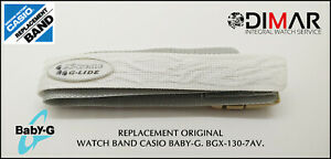 Replacement Original Watch Band Casio Baby-G BGX-130-7AV