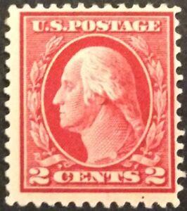 1912 2c Washington regular issue, Scott #406, MNH, Fine