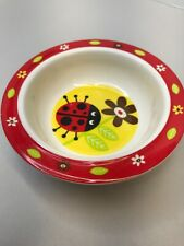 Sugar Booger Baby Suction Bowl Lady Bug Baby Bowl Suction Bowl