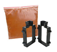 SAND CASTING SET POURING MELTING GOLD SILVER COPPER FORMS PETROBOND CLAY