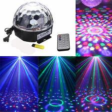 DJ Laser Party Lichteffekt Discokugel LED Bühnenbeleuchtung Projektor Magic Ball