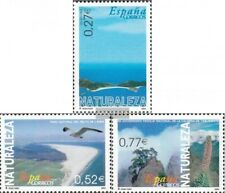 Spain 3996-3998 mint never hinged mnh 2004 Nature Reserves
