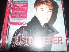 Justin Bieber Under The Mistletoe (Australia) CD DVD Edition – Like New