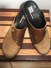 Joseph Seibel Mules Clogs Leather Shoes 40  7.5-8 US EUC S3