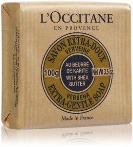L'Occitane Verbena Shea Butter Extra Gentle Soap 100g/3.5oz 6 Pack