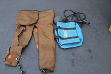 David Clark Mast III-A Anti-Shock Trousers with Pump & Carrying Bag