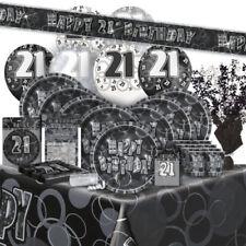 Decoración y menaje color principal plata cumpleaños infantil para mesas de fiesta
