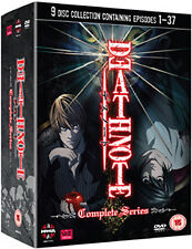 DEATH NOTE - COMPLETE SERIES BOX SET - DVD - REGION 2 UK