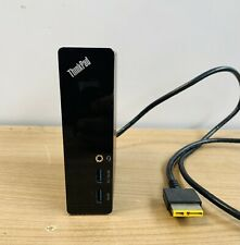 More details for original lenovo thinkpad onelink du9026s1  docking station port replcator black