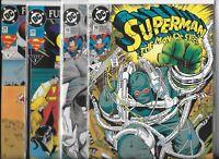 Superman: The Man of Steel  #18, #19, #20 & #21  Lot of 4 (1992/93, DC Comics)