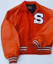 The Original Holloway Varsity Jacket Orange Letterman S Football Sport 71 XL