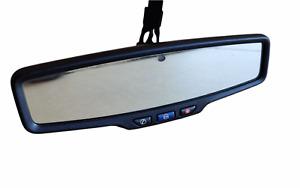 2010-2020 CHEVROLET GMC BUICK INTERIOR REAR VIEW MIRROR W/ TELEMATICS 13503845