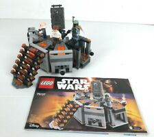 Lego Star Wars 75137 lot Carbon-Freezing Chamber complet + plan 2016