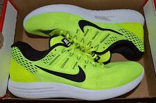 New Nike Mens Lunarglide 8 Run Running Shoes 843725-700 Sz 10 Volt