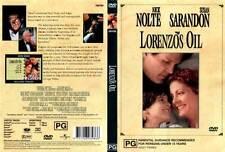 Lorenzo's Oil * NEW DVD * Nick Nolte Susan Sarandon (Region 4 Australia)