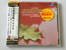 Bernard Haitink Schumann The Four Symphonies 2 CD TOWER RECORDS JAPAN