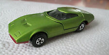 1970 Matchbox Superfast Green Dodge Charger Mk III Car #52 (Minty)