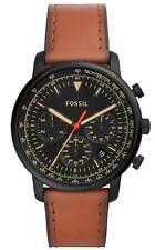 NIB Fossil Men's Goodwin Black Dial Watch - FS5501
