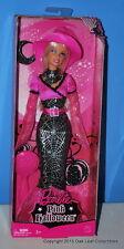 Halloween Pink Barbie Doll 2008 Mattel  Silvery Cobweb Skirt NRFB