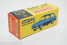 LION CAR DAF 44 STATIONCAR ORIGINAL EMPTY BOX NEAR MINT RARE SELTEN RARO